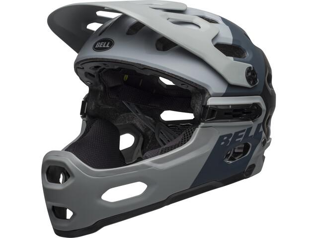 Bell Super 3R MIPS Helmet downdraft matte gray/gunmetal